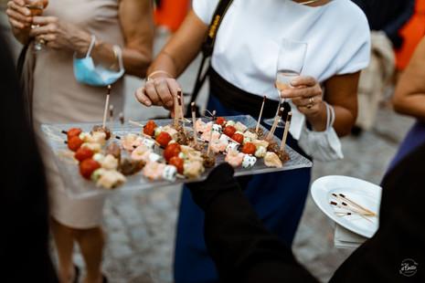 mariage, photographe saint germain du puch, chateau goudichaut, cocktail, phylis traiteur