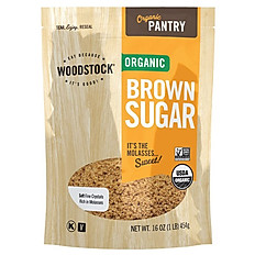 Woodstock Organic Brown Sugar - 16 oz
