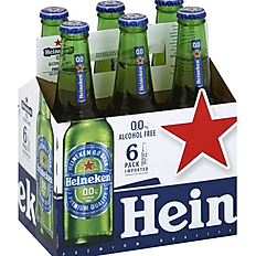 Heineken Beer, Alcohol Free - 6 Pack