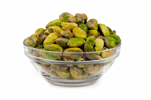 Roasted Pistachios (Unsalted, No Shell) - 4 oz