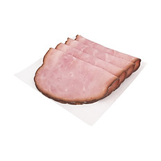 Sliced Smoked Ham, Uncured - 6 oz