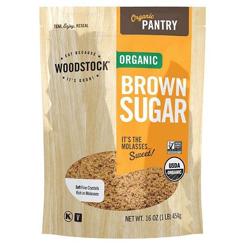 Woodstock Organic Brown Sugar - 16 oz