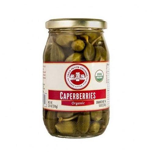 3-LP Organic Caperberries - 5.8 oz