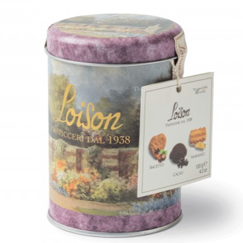 Loison Assorted Cookie Tin - 120 g