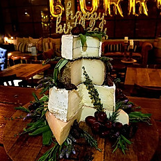 "Cheese Wheel Tower ""Cake"""