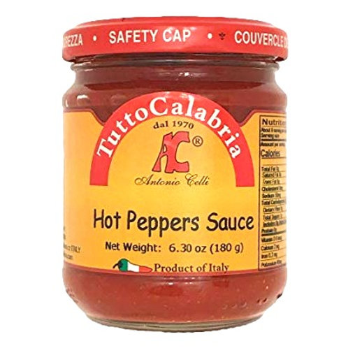 Tutto Calabria Hot Peppers Sauce - 6.7 oz