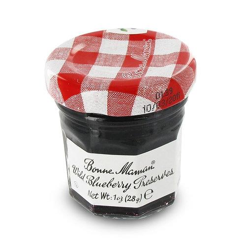 Bonne Maman Wild Blueberry Preserves Mini - 1 oz