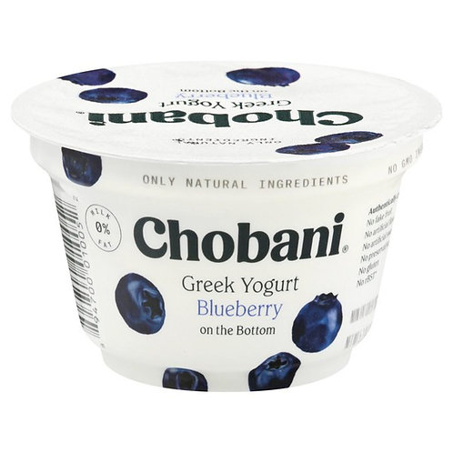 Chobani Non-Fat Blueberry Greek Yogurt - 5.3 oz