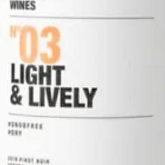 Light & Lively Pinot Noir 2018 - 750 ml