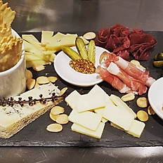 Large Charcuterie and Artisanal Cheese Board