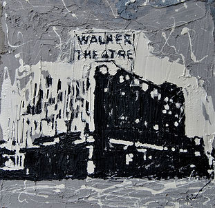 Tribute to Madame Walker Theater 24 x 24
