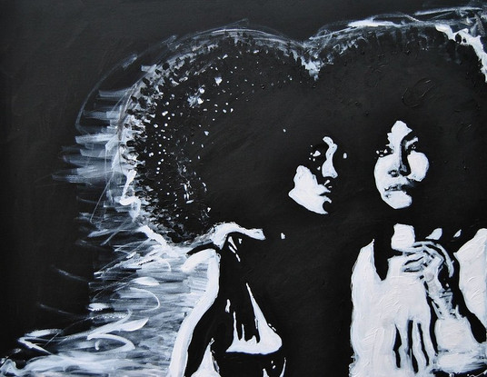 SOLD -SIS/Acrylic on Canvas