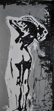 Essence/Concrete,Tar, White Latex