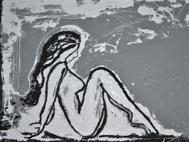 Sitting Pretty_Concrete, Tar, White Late