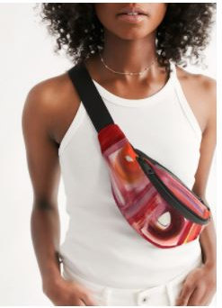 Fanny Pack Abstract Color
