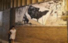 Rebecca Robinson _Standing Next To Mural