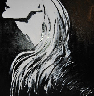 Profile/Acrylic on Canvas