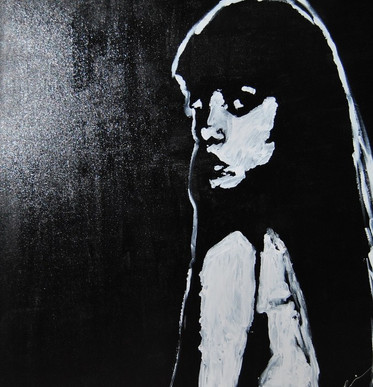 No thank you/Acrylic on Canvas