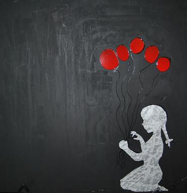 HelovesMeHeLovesMeNot/Stain Glass Paint/Chalk