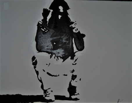 ambivalent/Acrylic on Canvas