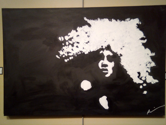 Fire- Acrylic on Canvas