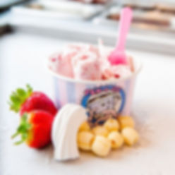 Pan-n-Ice ice cream rolls!