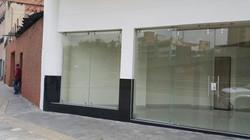 Instalación de nueva fachada