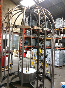 Metal bird cage ACT Universal metal fabrications
