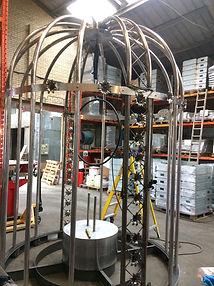 Metal bird cage ACT Universal metal fabrications