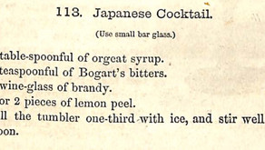 Cocktail Entstehung in Japan