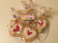 valentine gift cookies