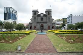 St Louis Cathedral in Mauritius where the CEDOI Bishops met and released their statement