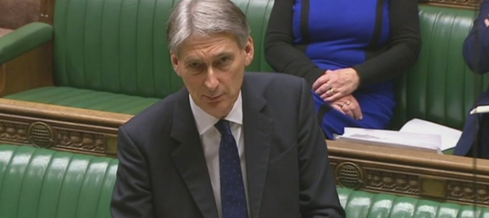 Philip Hammond, speaking in Parliament
