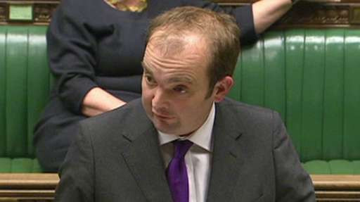 Minister responsible for the Chagos Islands James Duddridge