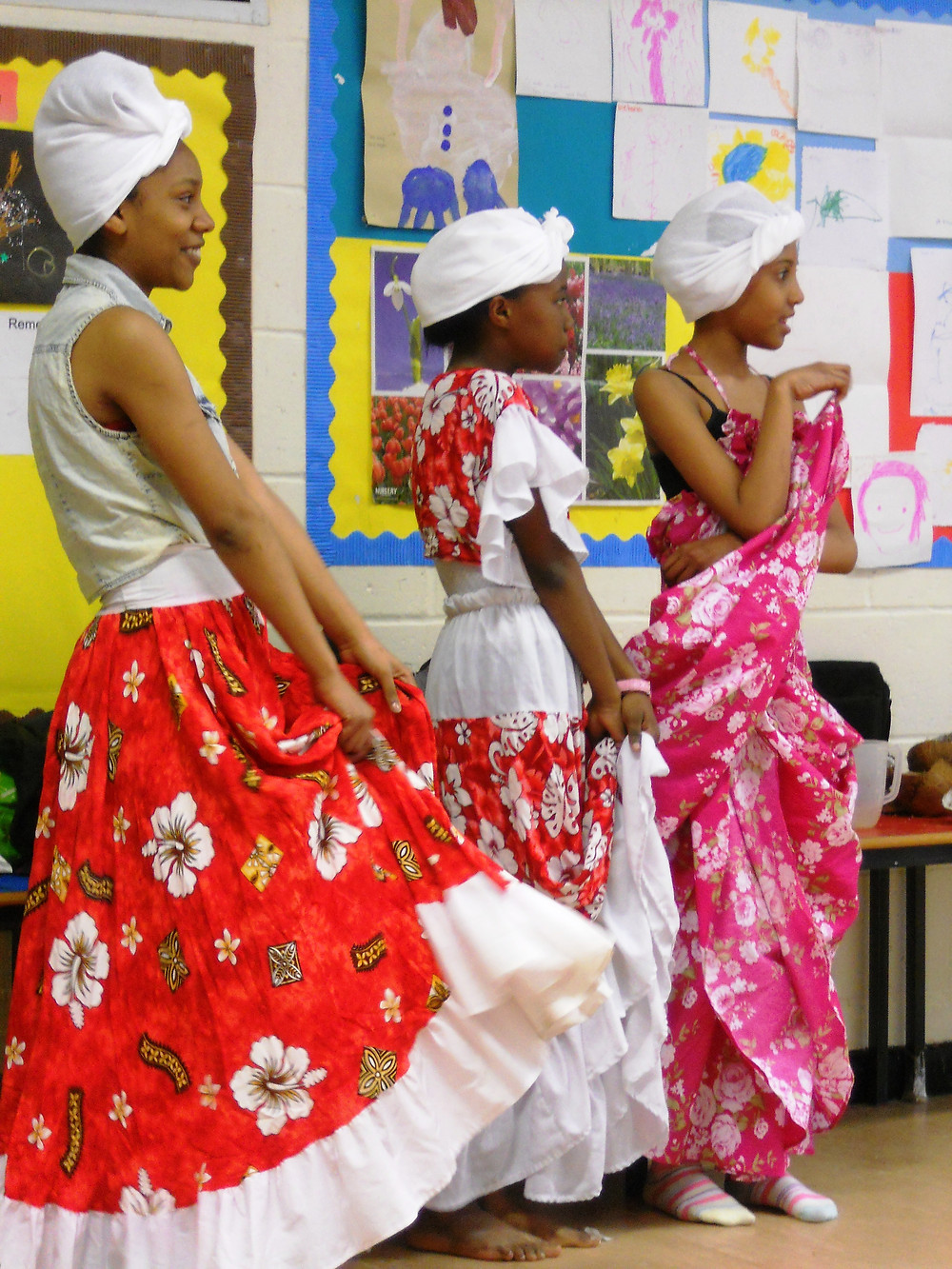 Traditional Chagossian dancing from a previous cultural event in Crawley earlier this year