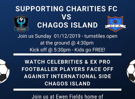 Chagos Football team to play celebs & ex-pros this Sunday