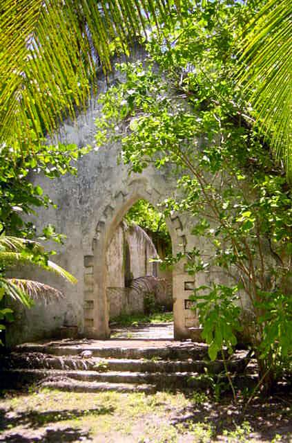 A Chagossian church on Ile de Boddam
