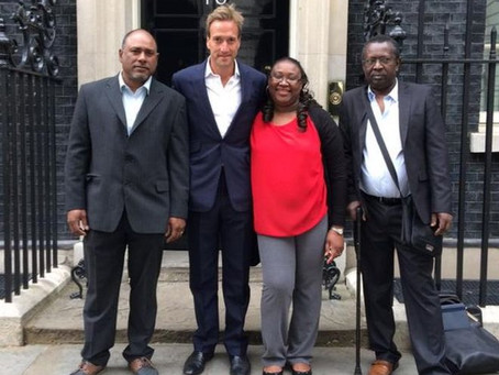 Ben Fogle launches Chagos Return petition this Chagos Day