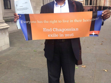 Almost £6m spent by UK government on Chagos legal costs