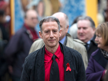 """They have the right to decide what's best for them"" Peter Tatchell speaks out in supp"
