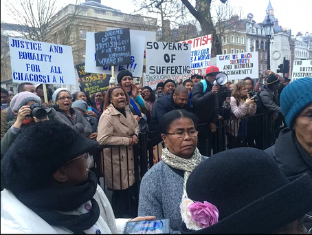 Chagossians protest unfair deportations