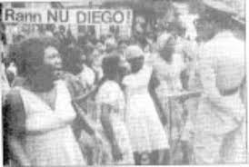 The original Chagossian return movement, which featured with hunger strikes in the early 1980s. A symbol of the enduring and resilient struggle