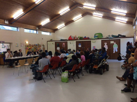 Chagossian community hustings in Crawley