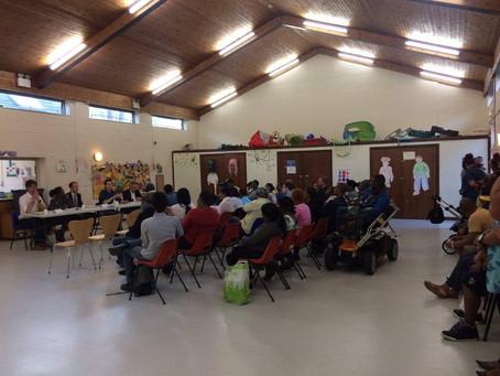 Chagossian community hustings in Crawley