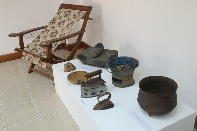 Modesti Exhibition, photo courtesy of Seychelles News Agency, Joe Laurence