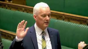 SNP MP Dr Paul Monaghan raised the UN Committtee's verdict in Parliament