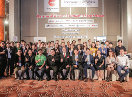 The Future of Wireless Connectivity to Smart Solutions - Thailand, Sept 25th, 2019