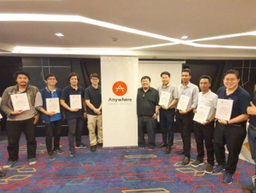 Myanmar and Thailand Partners Certified By Anywhere Networks