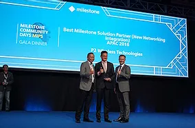 Anywhere Networks Awarded Milestone Best Solution Partner