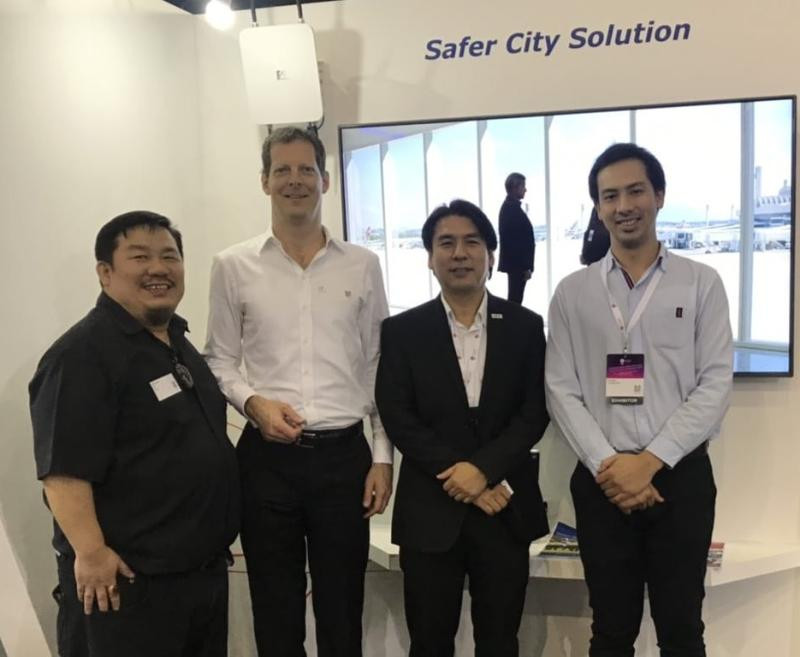 Anywhere Network representatives with our partners at NEC Corporation in Thailand.